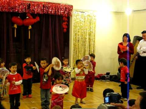 Shu Ren International School Year of Tiger Celebration - Unmberlla dance
