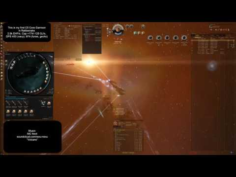 EvE Online Rattlesnake solo in C5 Core Garrison (music by MC Next)
