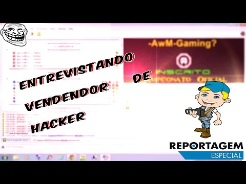 [CF]-ENTREVISTANDO VENDEDOR DE HACKER