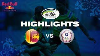 Highlights – Sri Lanka vs Chinese Taipei   Asia U20 Sevens