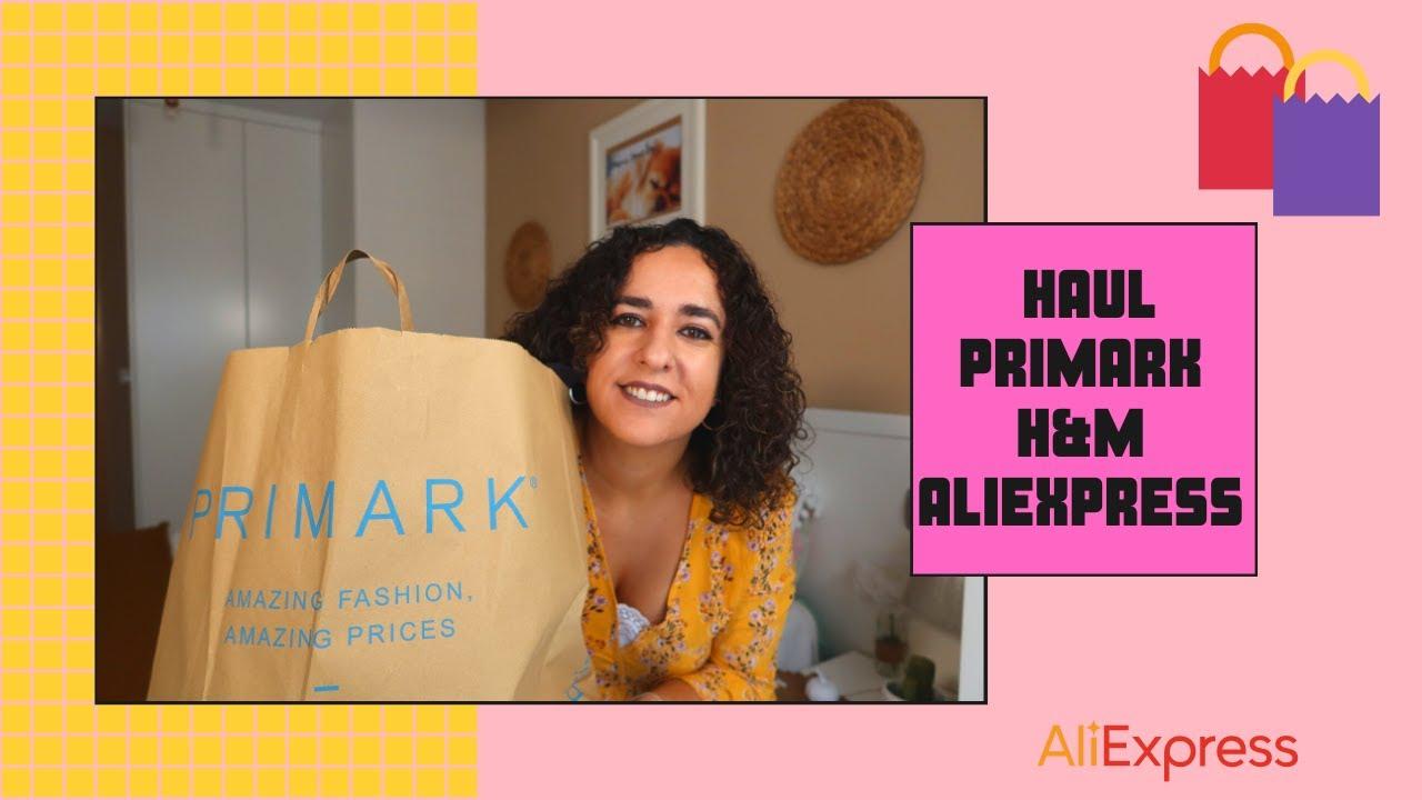 HAUL ULTIMAS COMPRAS ** PRIMARK, H&M, ALIEXPRESS... Barato y variado!