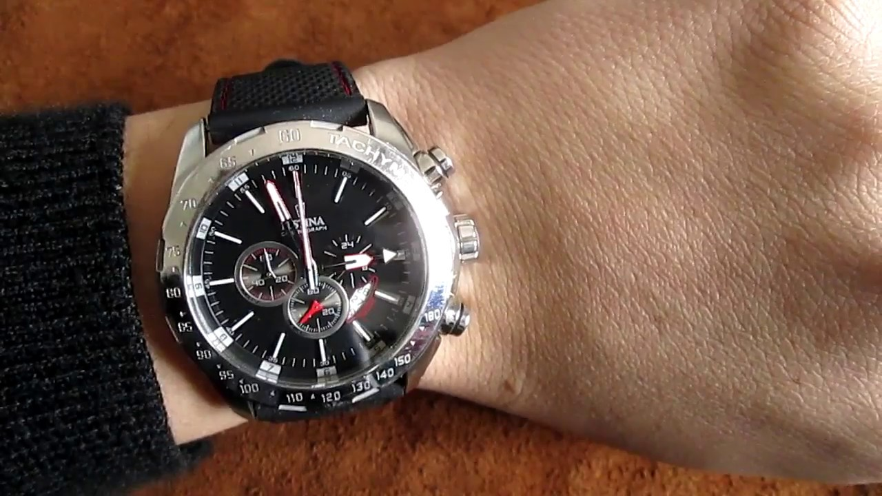 26cc52fea Festina Chronograph Watch F16489 - YouTube