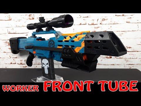 Dertestmichels m4 worker kit fÜr nerf retaliator blaster youtube