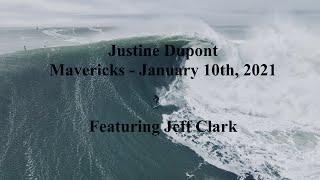 Quand Justine Dupont dompte Mavericks avec l'aide de Jeff Clark