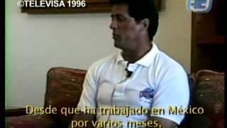 Entrevista Sylvester Stallone en su visita a Los Cabos en 1996