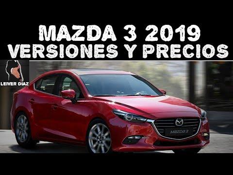 Mazda 3 2019 Versiones y Precios