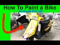 How To Paint a Scooter, Moped, Bike Update 98 Honda Elite SR