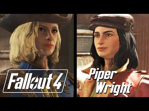 Fallout 4 - Piper Dialogue/Romance Path