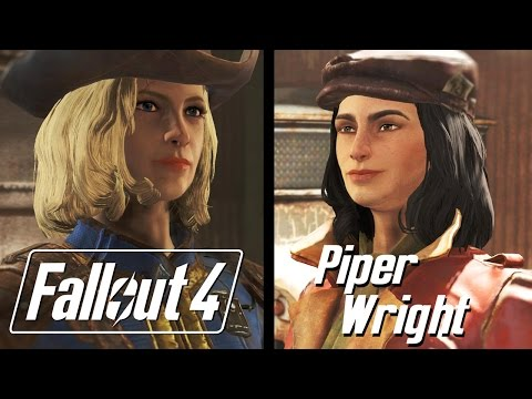 Fallout 4 - Piper Dialogue/Romance Path from YouTube · Duration:  29 minutes 44 seconds