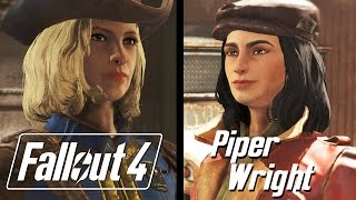Fallout 4 - Piper Dialogue Romance Path