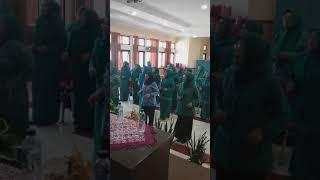 Pengukuhan Bunda Literasi Desa ( Lagu SAKOPER CINTA), Kec Kutawaringin Kab Bandung Jabar, tgl 17 jul