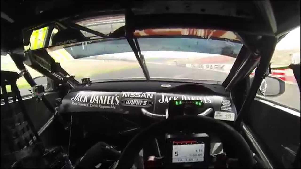 Jack Daniel's Racing Nissan Altima V8 Supercar on the ...
