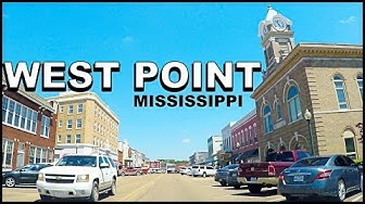 West Point Mississippi Downtown Tour