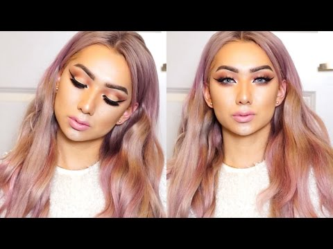 Mauve Rose Cut Crease Makeup Tutorial // Nyc Dragun