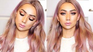 Mauve Rose Cut Crease Makeup Tutorial // Nyc Dragun
