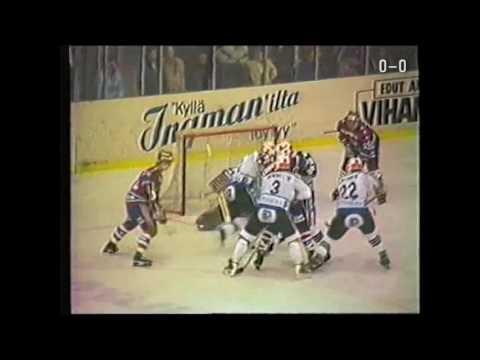 Throwback Thursday: Reijo Leppäsen kunniaksi TPS–HIFK vuodelta 1982