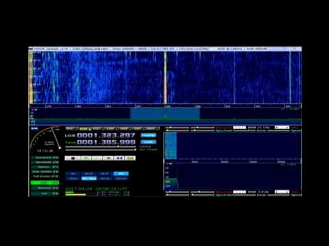 Radio Baltic Waves International 19:50 utc на 1386 кгц 24 апреля 2017 года