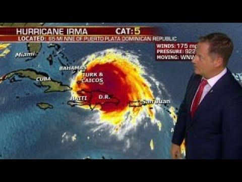 South Florida in Hurricane Irma's bullseye