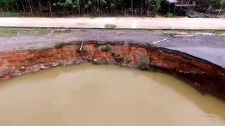 Video Udara Kawasan Sungai Ogan, Desa Suka Pindah