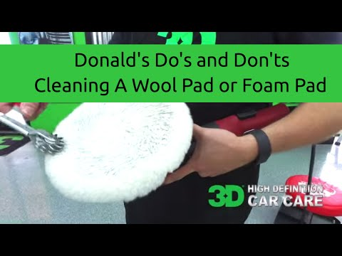 How to clean your Wool Pad