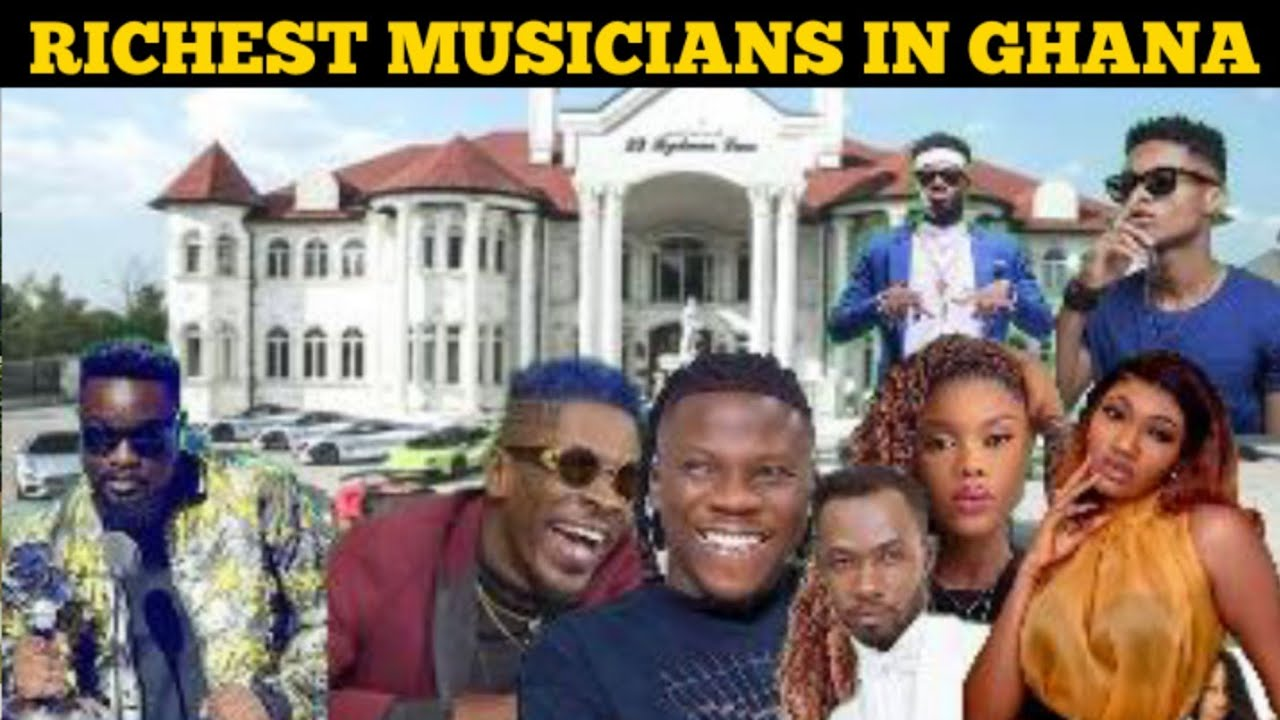 TOP 10 RICHEST MUSICIANS IN GHANA 2019 (FORBES LIST)