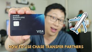 How to Use Chase Transfer Partners