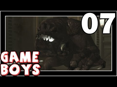 GAME BOYS - Knights of the Old Republic - Part 7: RANCOR SEWER BOSS !!