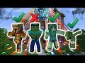 Minecraft MARK FRIENDLY ZOMBIE HAS A HOUSE PARTY !! WILD ENDING TO HIS HOUSE !! Minecraft Mods