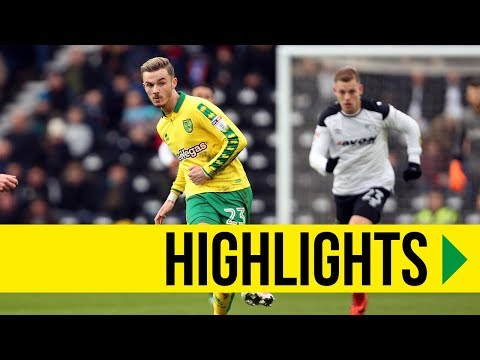 HIGHLIGHTS: Derby County v Norwich City