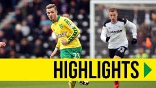 HIGHLIGHTS: Derby County v Norwich City