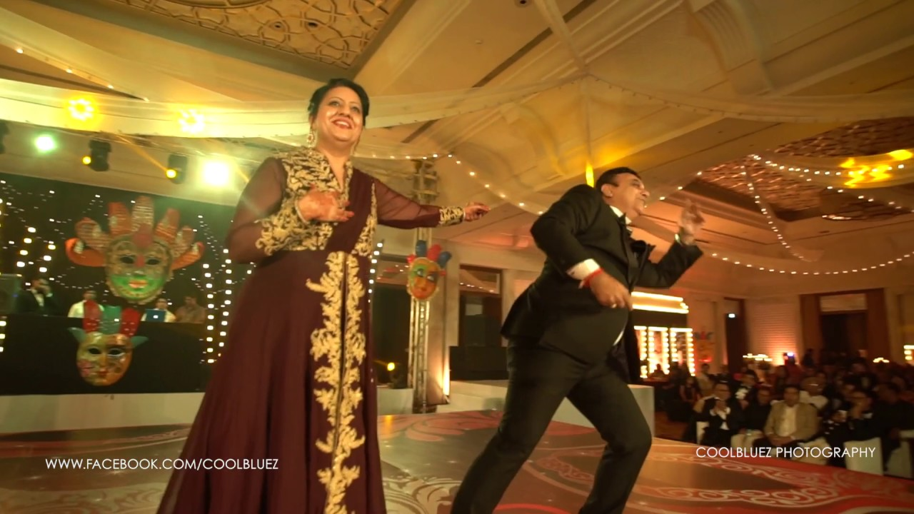 Wedding Dance Performance Parents