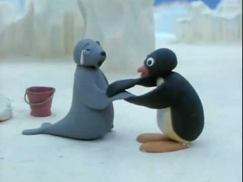 Pingu Goes Fishing Pescando