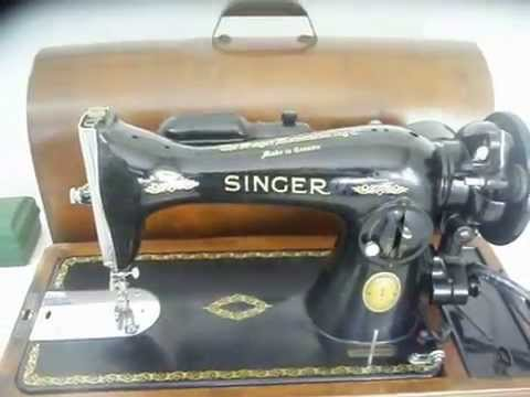 40 SINGER 4040 Sewing Machine W Box Accessories FOR SALE YouTube Interesting Antique Singer Sewing Machine Model 15 91
