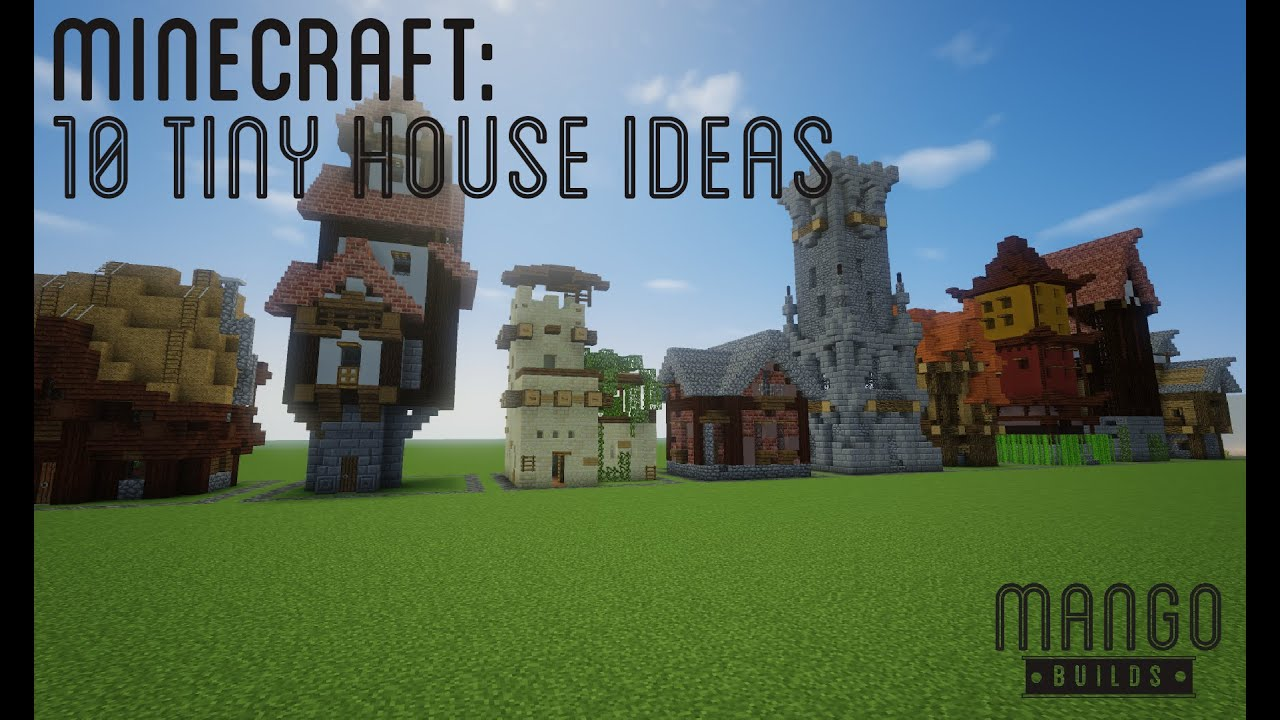Minecraft Awesome Tiny House Ideas