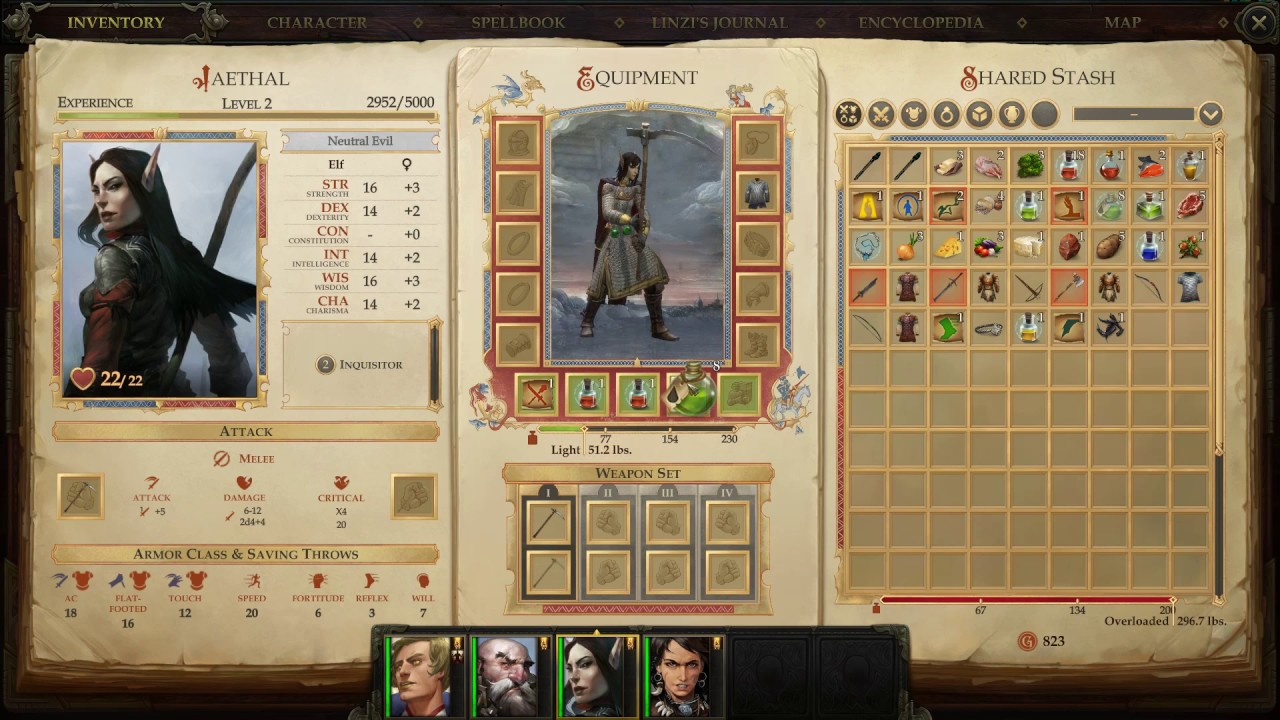 Pathfinder Kingmaker Playthrough 4 Almost Dying To A Bush Chasing Tartuccio