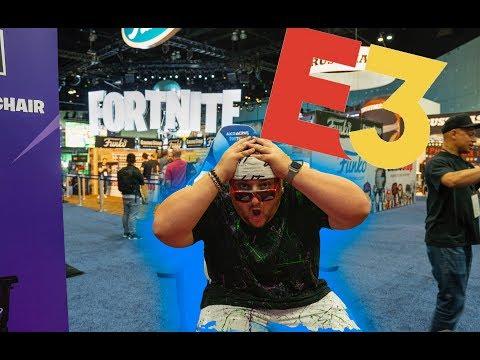 SNEAKING INTO THE FORTNITE PRO AM! @ E3
