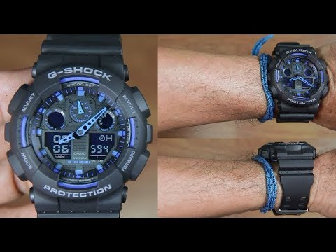100 Casio Ga Best Shock 1a2 Series G Unboxing nOk0wP8X