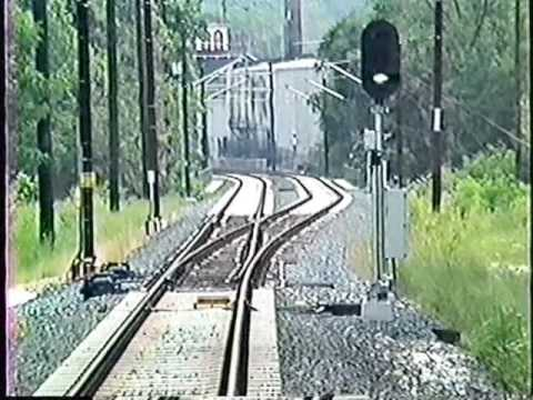 Classic Baltimore Light Rail-Timonium MD to Camden Yards (1992)