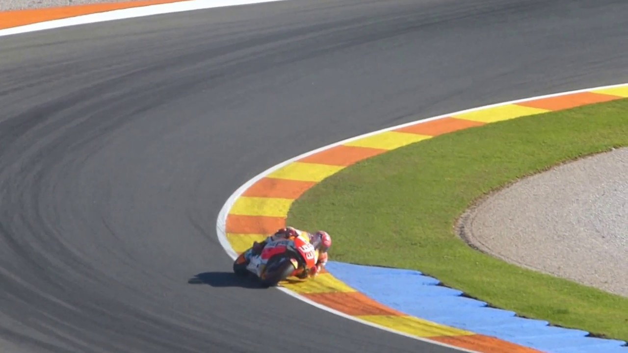 Circuito Valencia : Ultimas vueltas moto gp circuito de valencia ricardo tormo