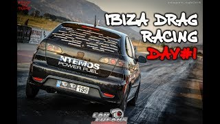 Ibiza Drag Car Racing @ Drag Battle by Night - Day 1 I Car Freaks GR