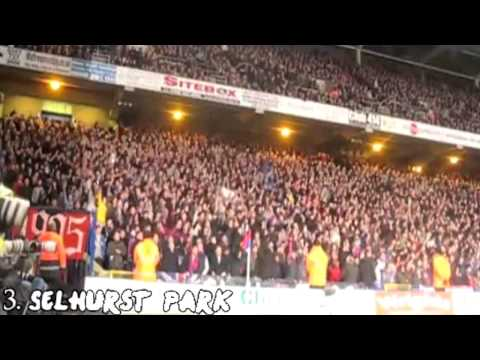 Top Six Loudest Football Stadiums (Fans) in England - Best English Atmosphere