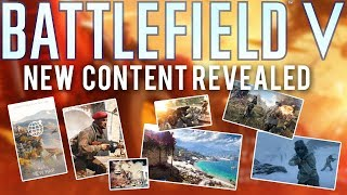 Battlefield 5 NEW Content Roadmap (Pacific, Maps, 5v5, Metro Remake?) thumbnail