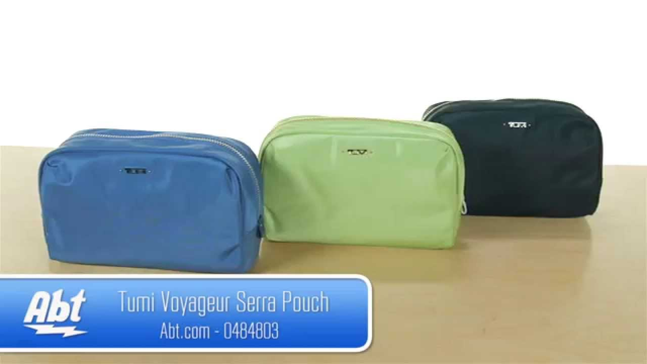 Tumi Voyageur Serra Pouch 0484803 Overview - YouTube 2191f200b31a8