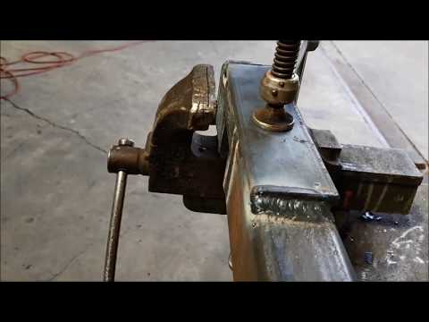 SHEET METAL HAND GUN- STICK THE WELDING-LAYING DOWN PENNIES