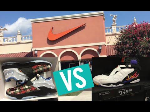 Nike Factory Store - San Marcos Vs Round Rock (Jordan 8, KD's + More)