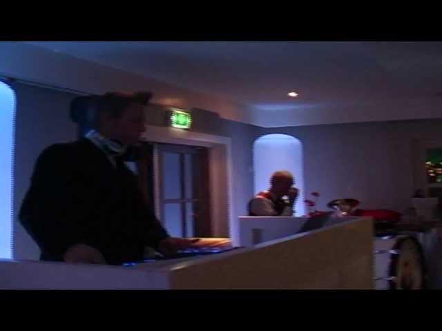 Kerstborrel Kerstfeest voor Ruim Baan met DJ Johan Post in Brasserie IJsselweide te Gouda