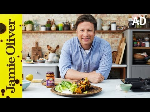 Chicken Tikka Skewers | Jamie Oliver | AD