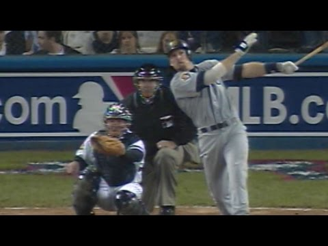 2001 ALCS Gm3: Jay Buhner hits deep blast to center