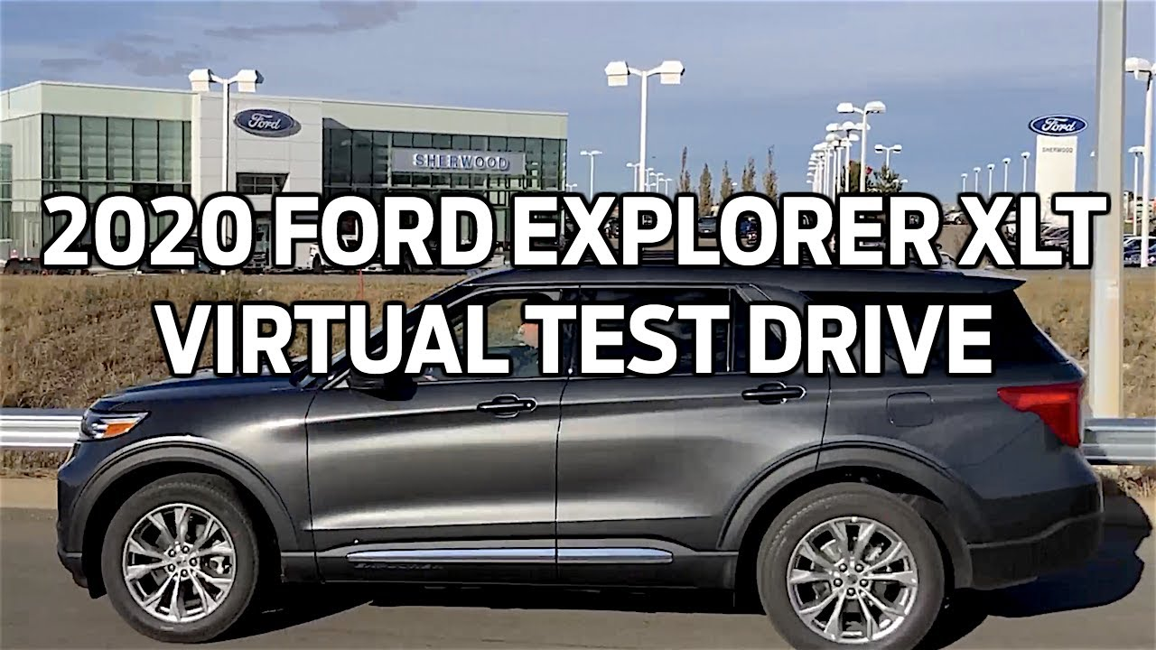 2020 Ford Explorer Xlt Virtual Test Drive And Hands On Car Review