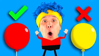 Learn Numbers with Balloons | D Billions Kids Songs